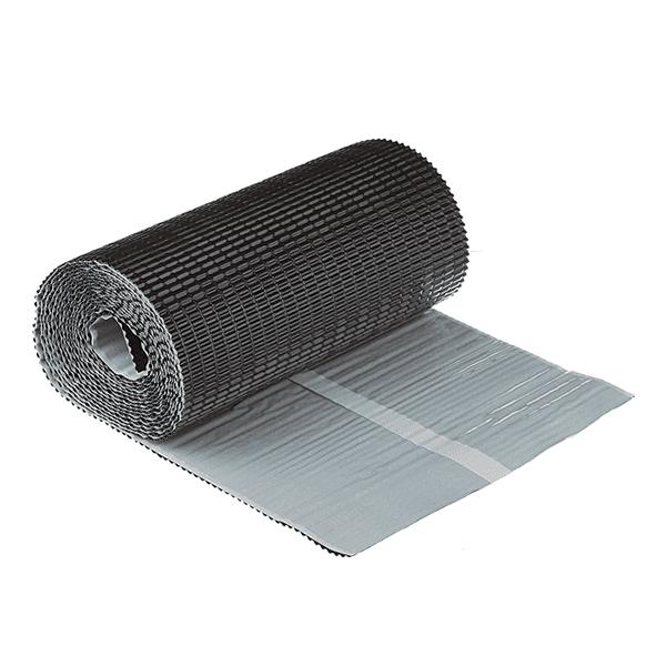 Лента для примыкания гофрированная алюминиевая 300х2500 коричневая