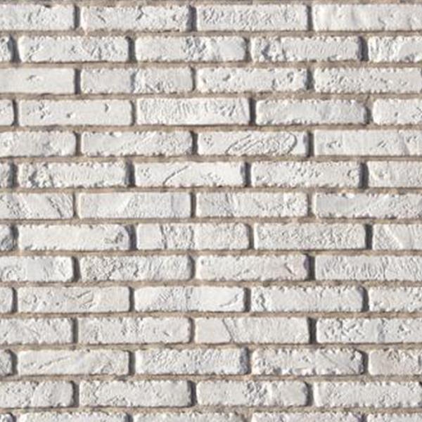 Камень искусственный Monte Alba Йорк Брик белый (84 шт.=0,96 кв.м)