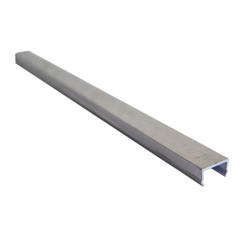 Пи-заглушка алюминиевая 3м 1 мм заглушка декоративная 10 шт в упаковке белая