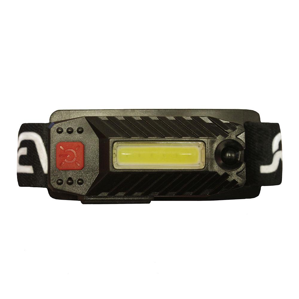 Фонарь налобный REV Headlight AccuPro светодиодный 1 LED 3 Вт аккумуляторный Li-Ion 120 мАч пластик с прямой зарядкой от сети