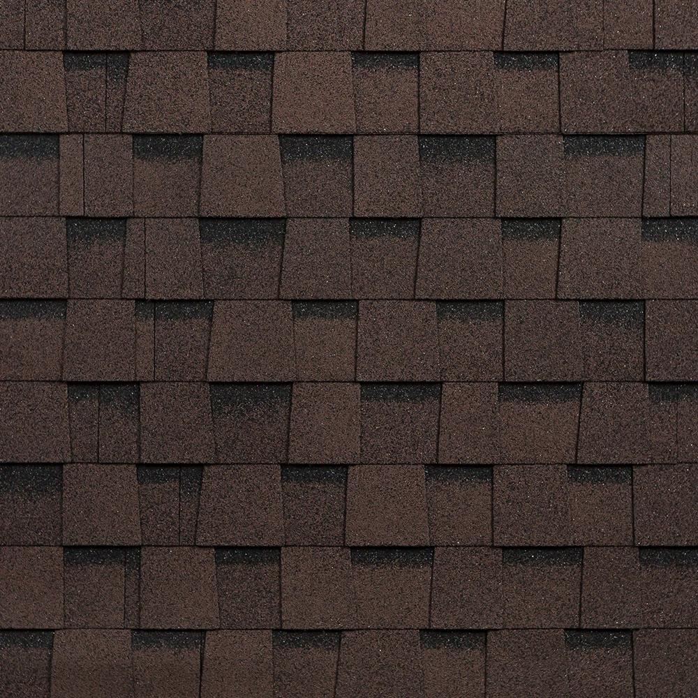 Черепица гибкая Shinglas Фазенда многослойная коричневая 2,6 кв.м
