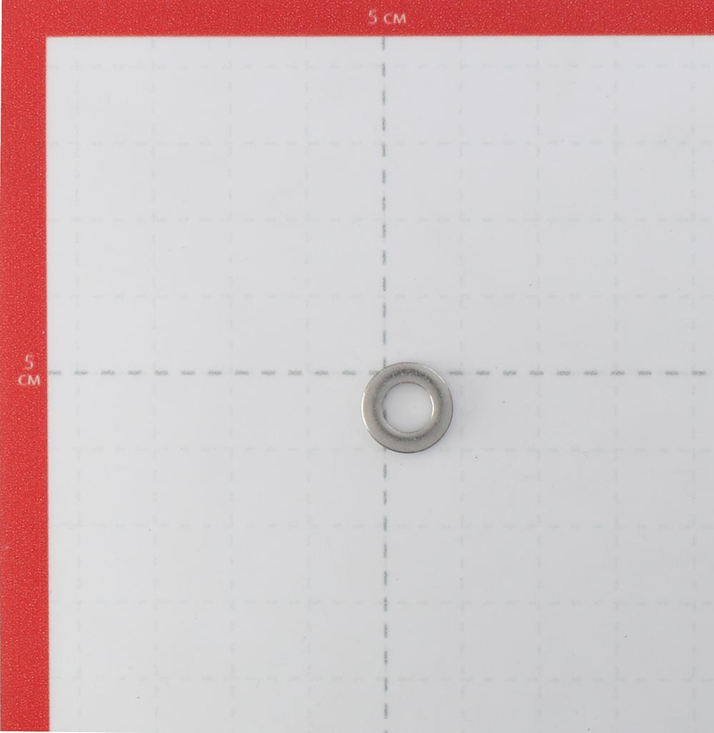 Шайба нержавеющая сталь 6x12 мм DIN 125 (20 шт.).