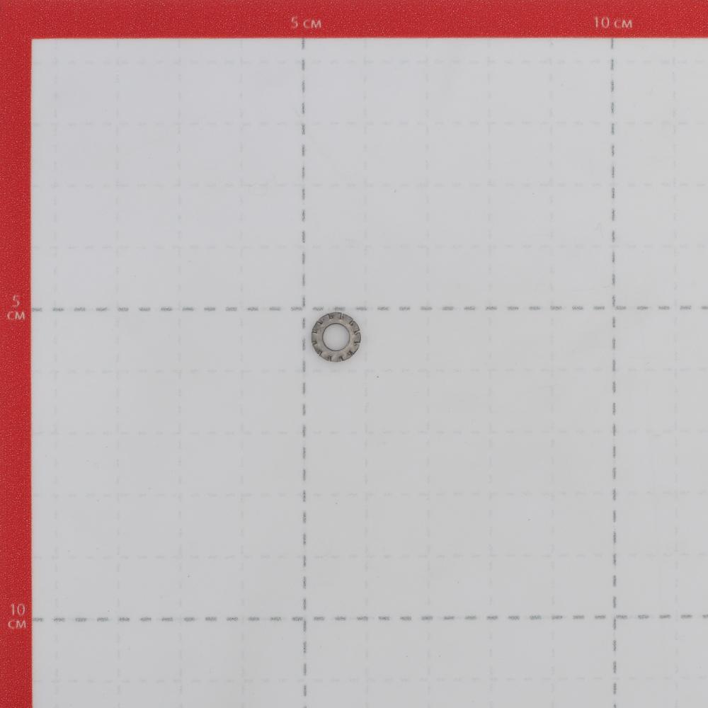 Шайба стопорная нержавеющая сталь 4x8 мм DIN 6798А (10 шт.).
