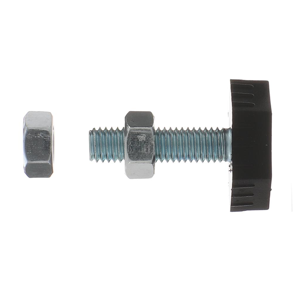 Опора регулируемая для металлического стеллажа КМ 25x25x25 мм
