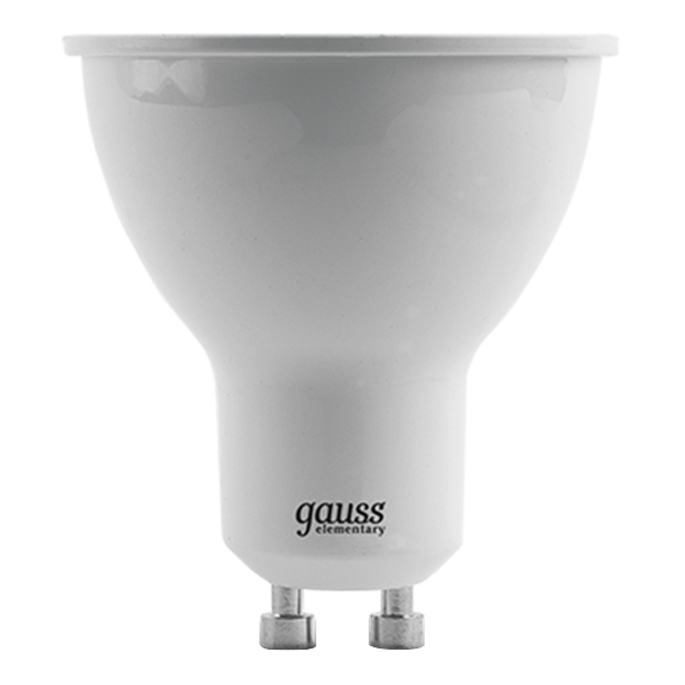 Лампа светодиодная Gauss 9 Вт GU10 рефлектор MR16 4100 К дневной свет 180-240 В