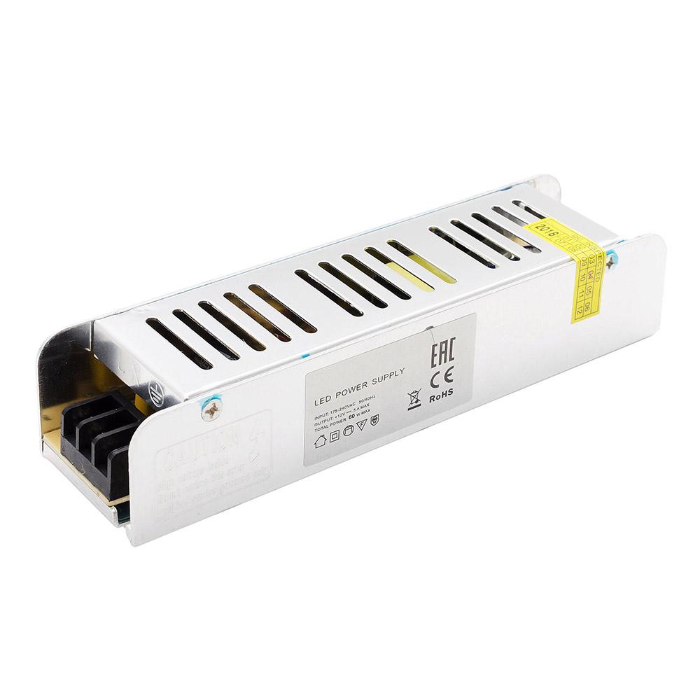 Блок питания для светодиодной ленты OGM 60 Вт 12 В IP20