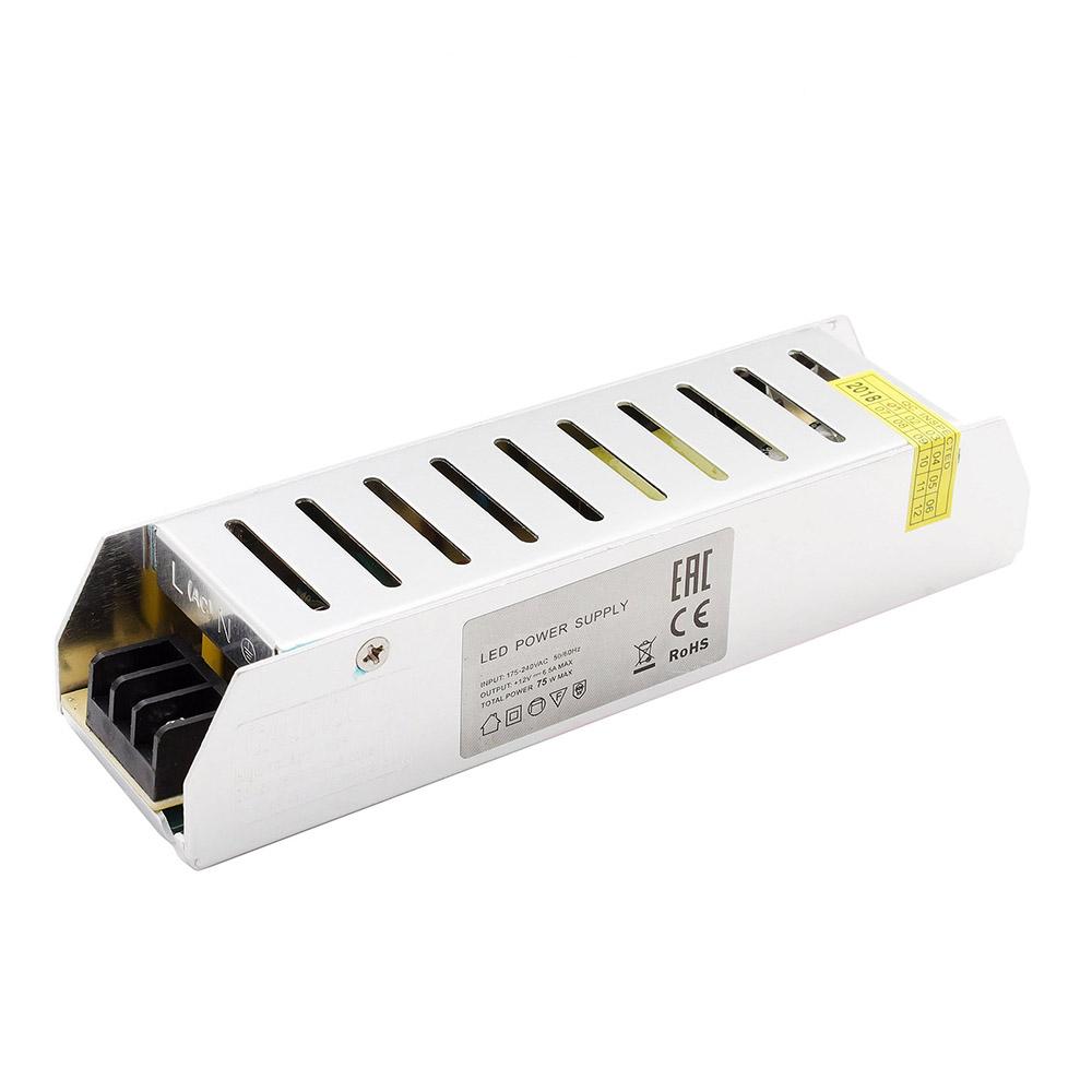 Блок питания для светодиодной ленты OGM 75 Вт 12 В IP20