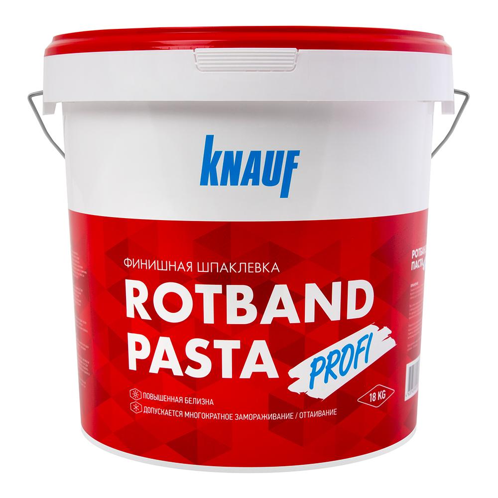 Фото - Шпатлевка финишная Knauf Ротбанд паста Профи 18 кг шпатлевка финишная knauf 5 кг