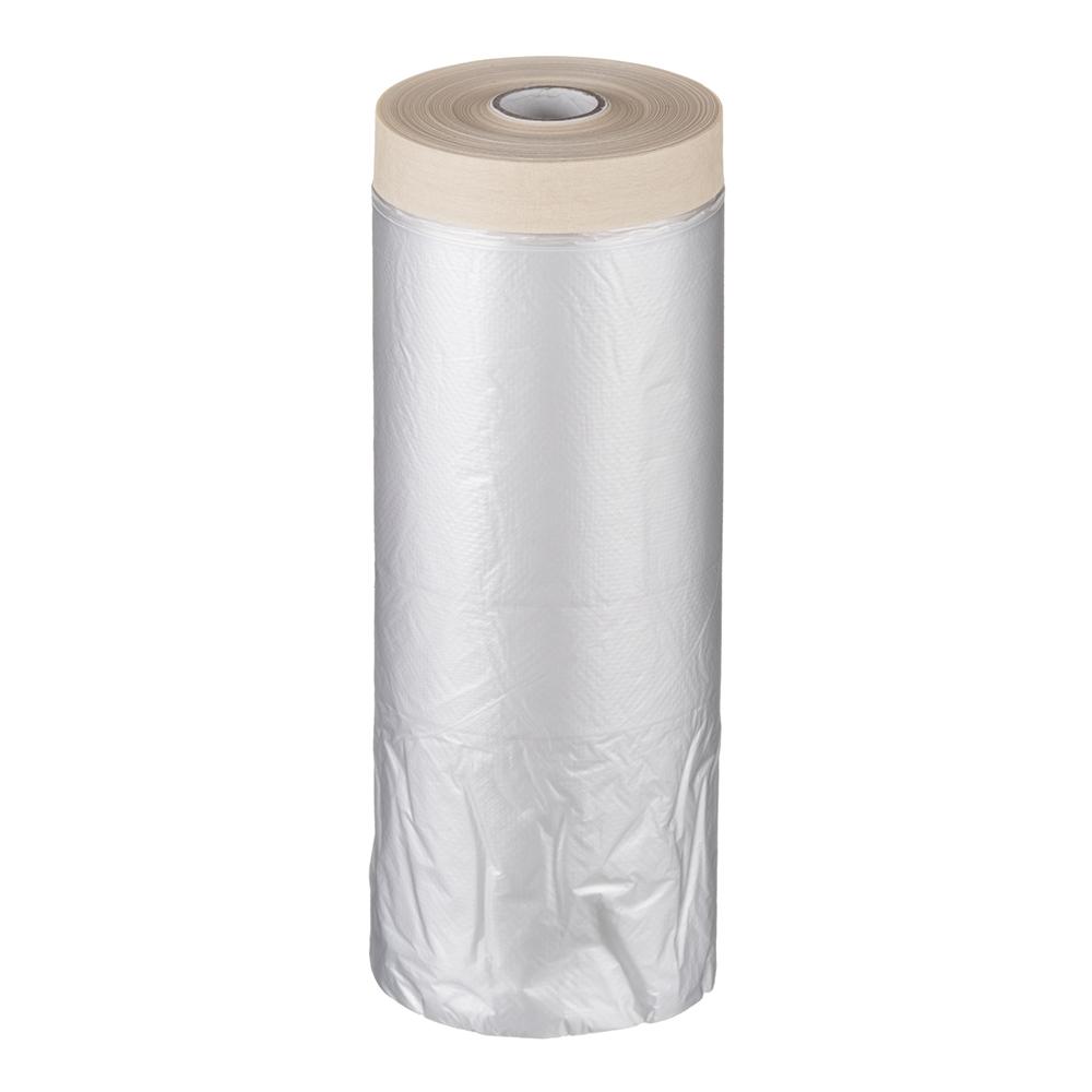 Пленка защитная Folsen с клейким краем 10 мк 1,1х33 м (36,3 кв.м) пленка
