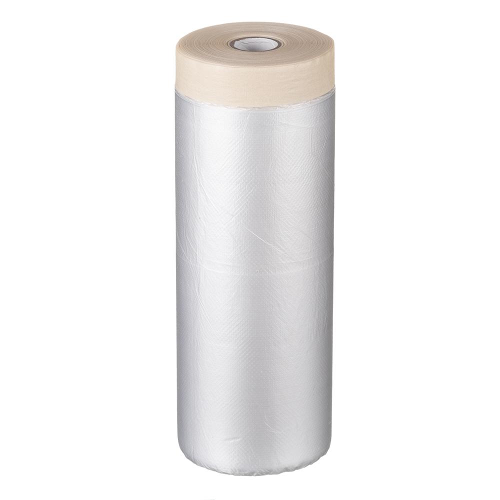 Пленка защитная Folsen с клейким краем 10 мк 1,8х33 м (59,4 кв.м) пленка
