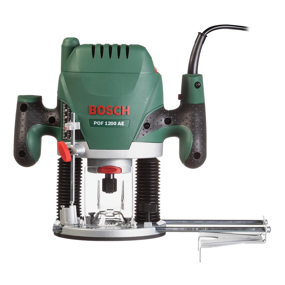 Фрезер электрический Bosch POF 1200 AE (060326A100) 1200 Вт фрезер bosch pof 1400 ace 060326c820
