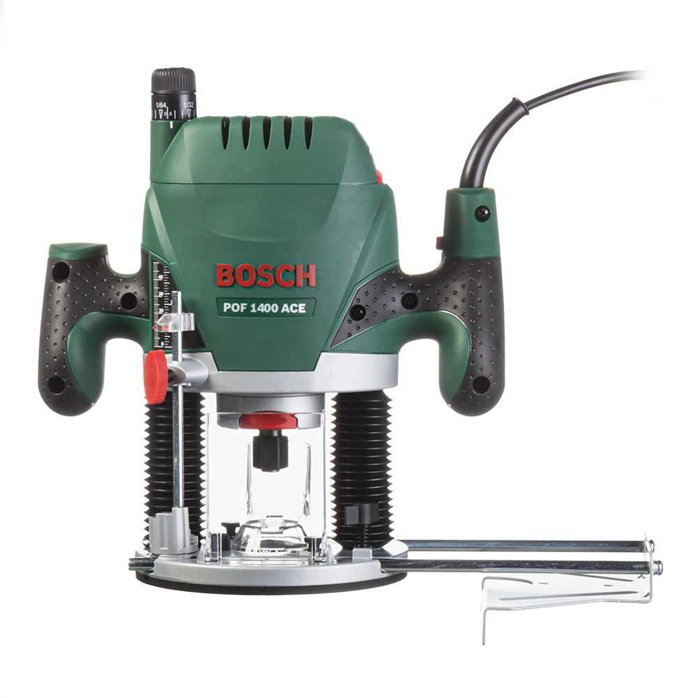Фрезер электрический Bosch POF 1400 ACE (060326C820) 1400 Вт фрезер bosch pof 1400 ace 060326c820