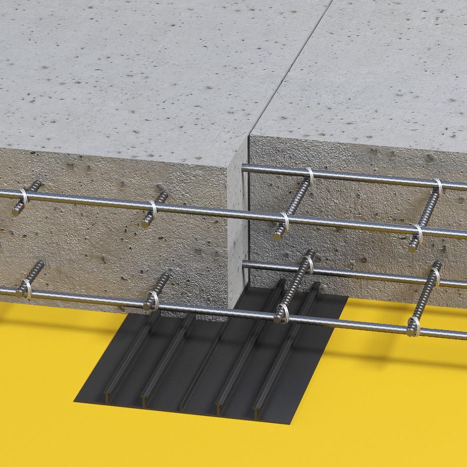 гидрошпонка в бетоне