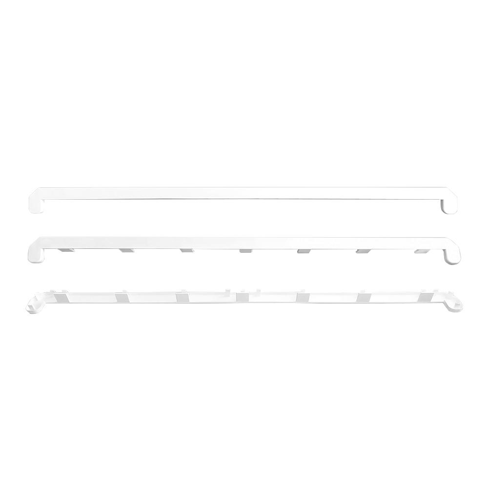 Соединитель для пластиковых подоконников Danke 700 мм белый