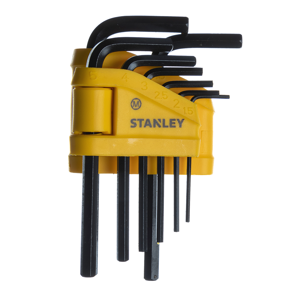 Набор шестигранных ключей Stanley 1,5-6 мм (0-69-251) (8 шт.) набор торцевых шестигранных ключей на кольце 8 шт fit 64003