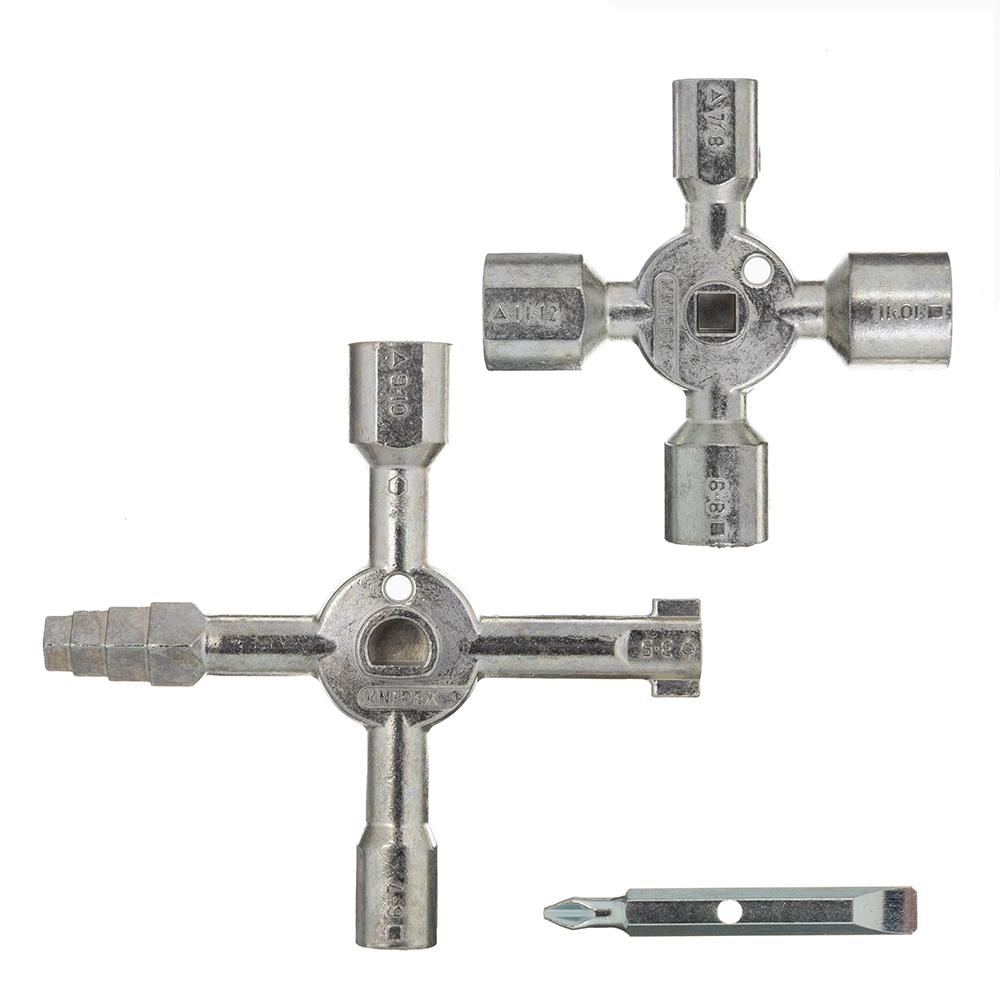Ключ Knipex TwinKey (KN-001101) для шкафов и систем запирания.