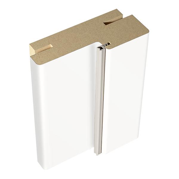 Фото - Коробка дверная VellDoris Ольсен эмаль белый телескопическая 30х74х2100 мм (2,5 шт.) доборная планка velldoris ольсен эмаль светло серый 150х10х2150 мм 1 шт