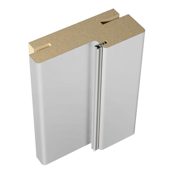 Фото - Коробка дверная VellDoris Ольсен эмаль светло-серый телескопическая 30х74х2100 мм (2,5 шт.) доборная планка velldoris ольсен эмаль светло серый 150х10х2150 мм 1 шт