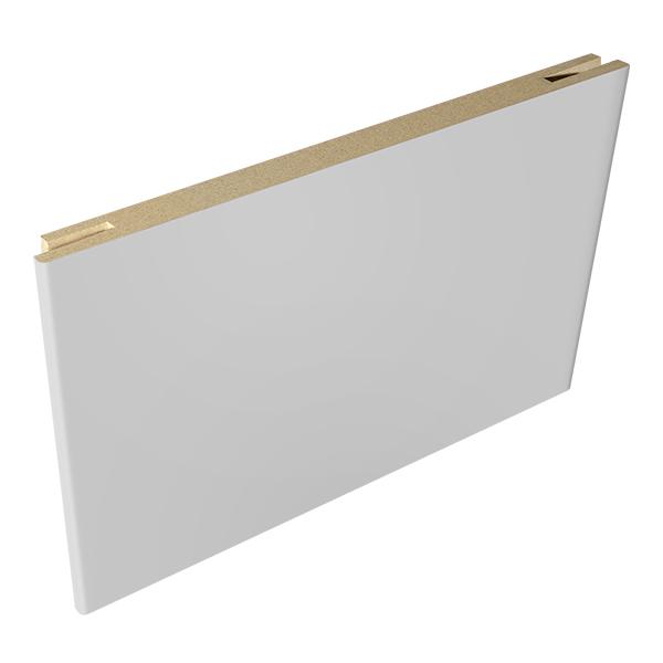Доборная планка VellDoris Ольсен эмаль светло-серый 150х10х2150 мм (1 шт.)