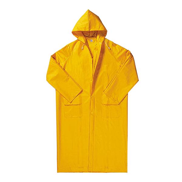 Плащ влагозащитный ПВХ 52-54 рост 170-176 см цвет желтый фото