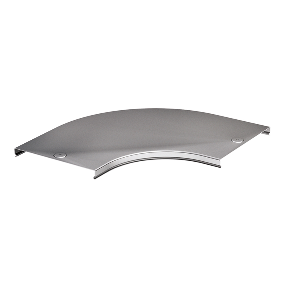 Крышка на угол горизонтальный 90° для лотка DKC (38002) 100х50 мм металлическая фото