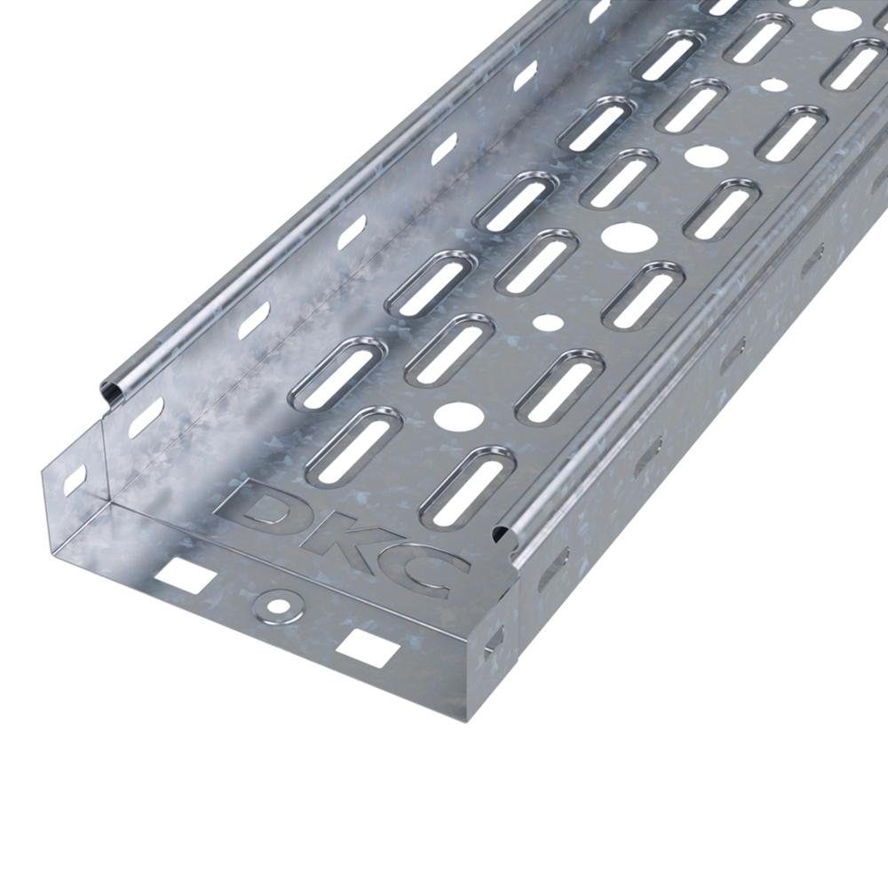 Лоток перфорированный DKC (35263) 150х50 мм металлический 3 м фото