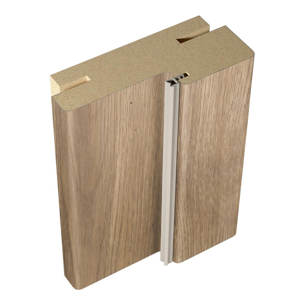 Коробка дверная VellDoris VISION 1, CASPIAN экошпон дуб европейский телескопическая 30х74х2100 мм (2,5 шт.) коробка дверная velldoris vision экошпон капучино 30х74х2100 мм 2 5 шт