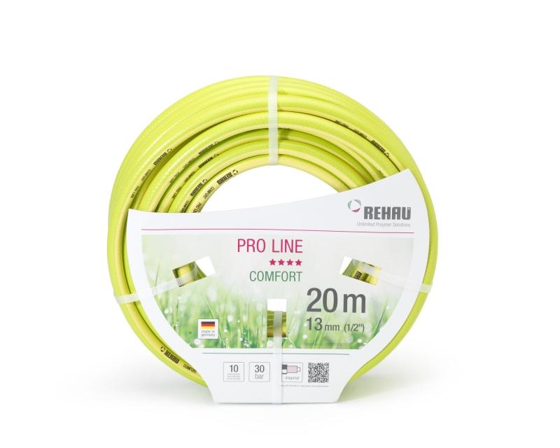 Шланг поливочный Rehau Premium Comfort PRO LINE 1/2 20 м трехслойный шланг rehau slide line 1 2 50