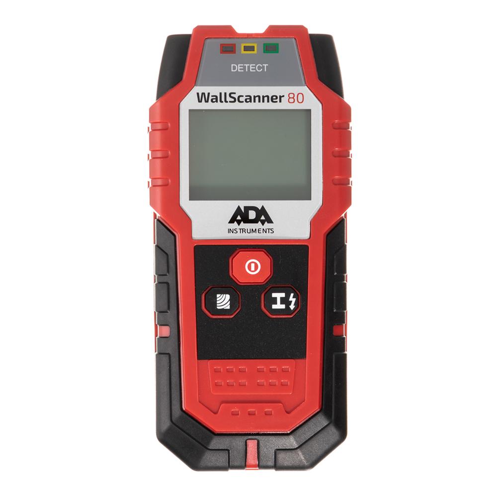 Детектор скрытой проводки ADA WALL SCANNER 80 (А00466) детектор металла ada wall scanner 80 [а00466]