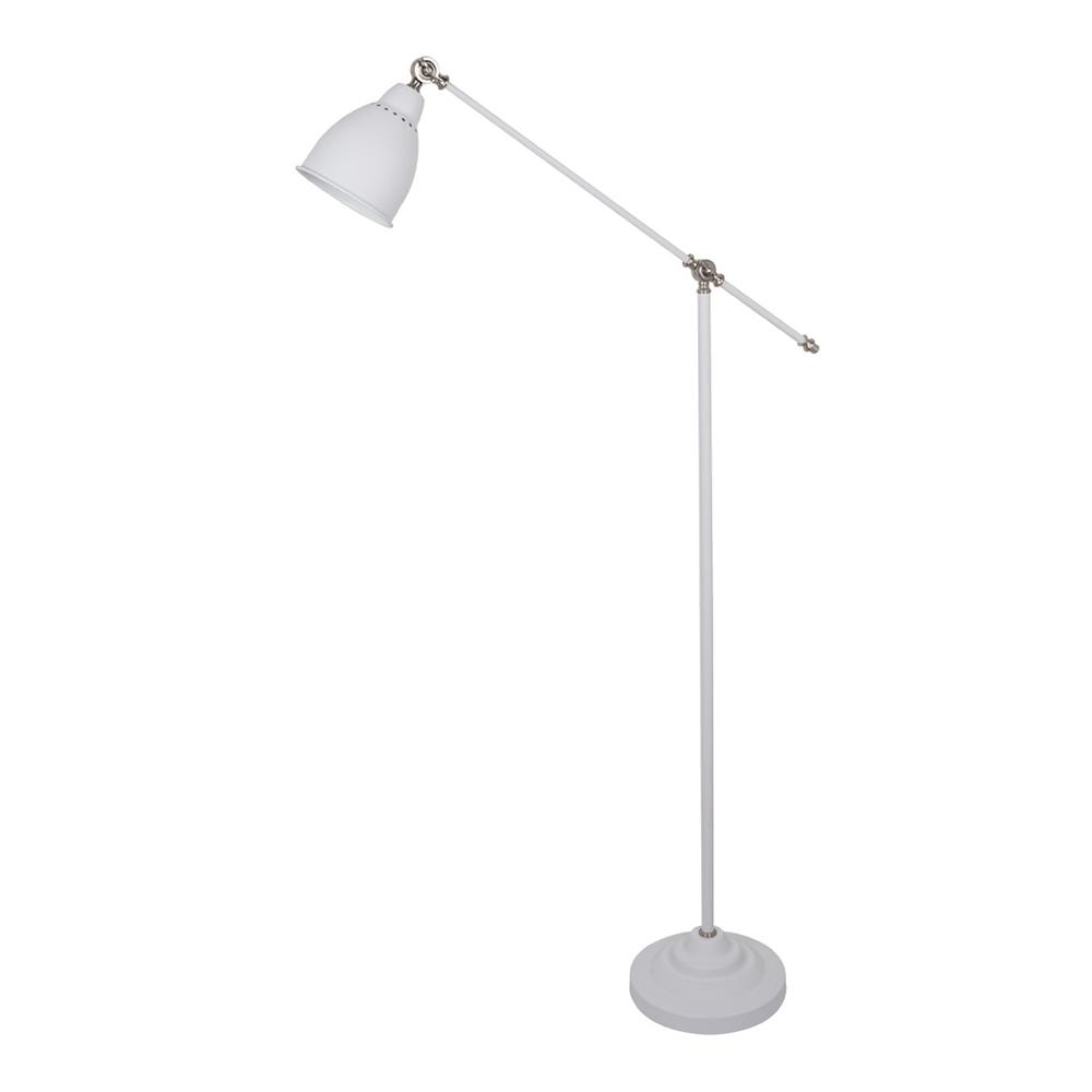 Торшер ARTE LAMP BRACCIO (A2054PN-1WH) E27 60 Вт 220 В IP20