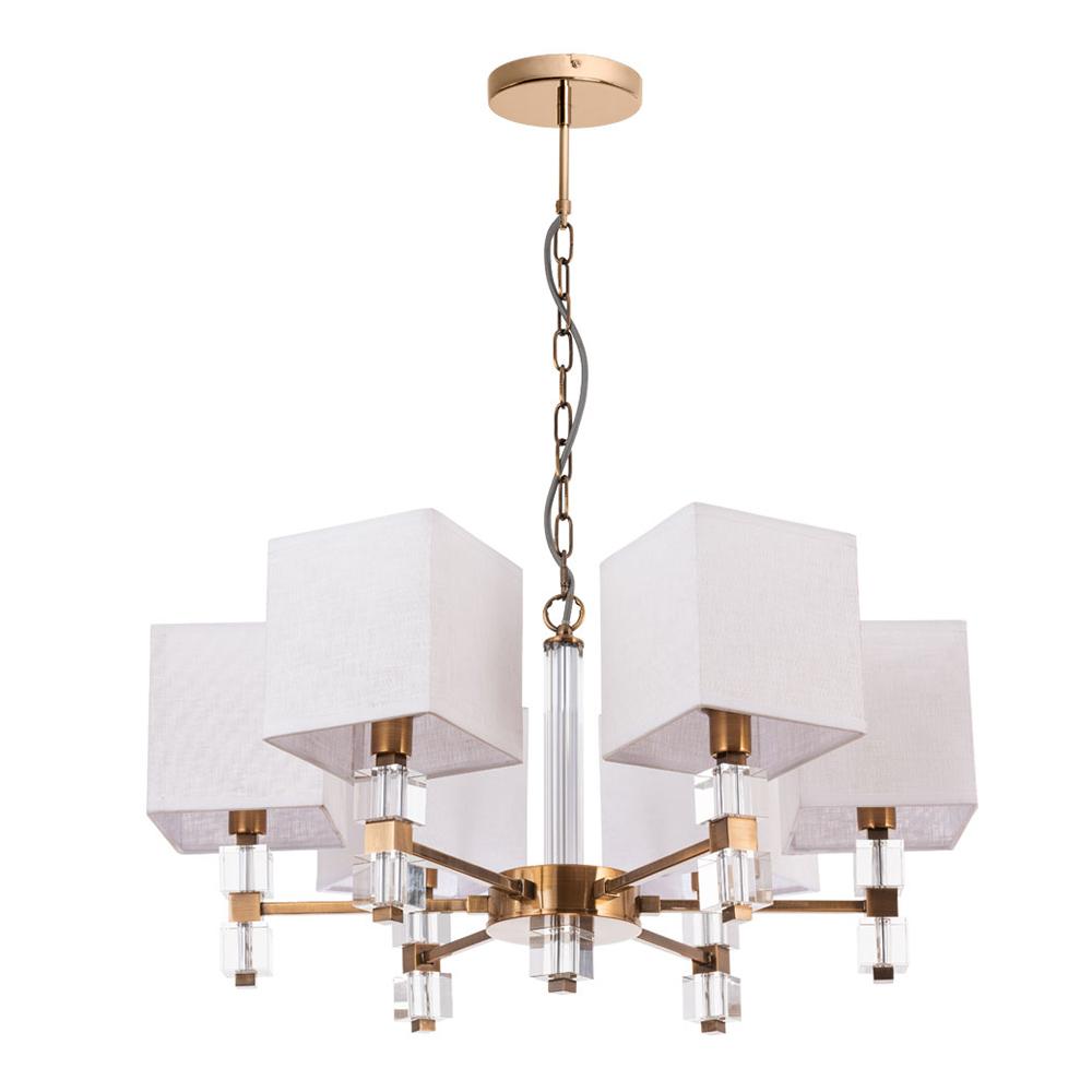 Люстра подвесная ARTE LAMP NORTH (A5896LM-6PB) E14 60 Вт 220 В IP20