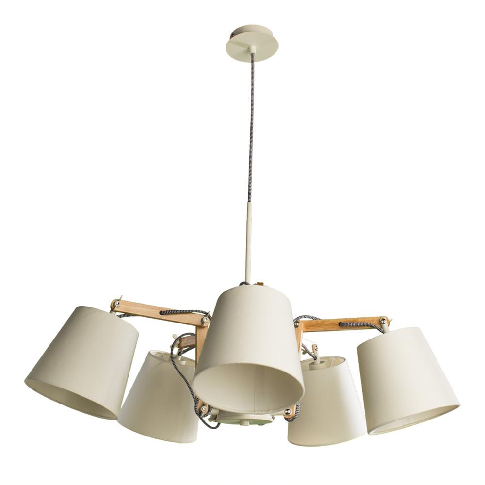 Люстра подвесная ARTE LAMP PINOCCHIO (A5700LM-5WH) E14 40 Вт 220 В IP20