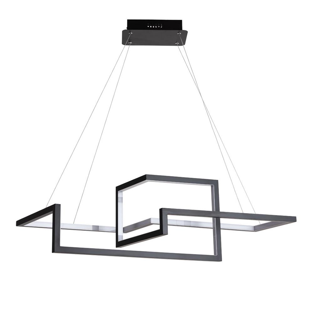 Люстра светодиодная подвесная ARTE LAMP MERCURE (A6011SP-2BK) LED 55 Вт 220 В 4000 К дневной свет IP20