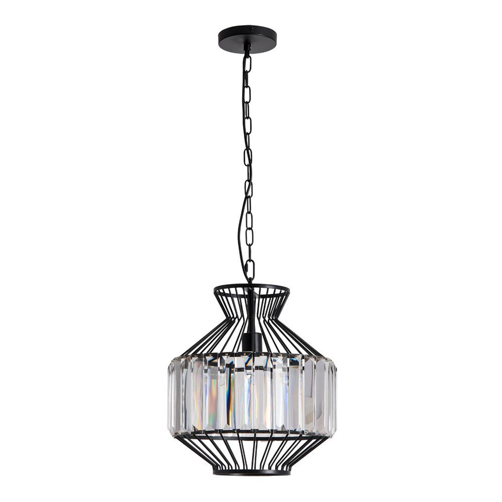 Люстра подвесная ARTE LAMP CASSEL (A1789SP-1BK) E27 60 Вт 220 В IP20