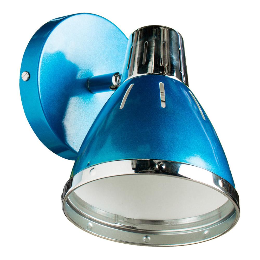 Спот ARTE LAMP A2215AP-1BL E27 40 Вт 220 В IP20 синий
