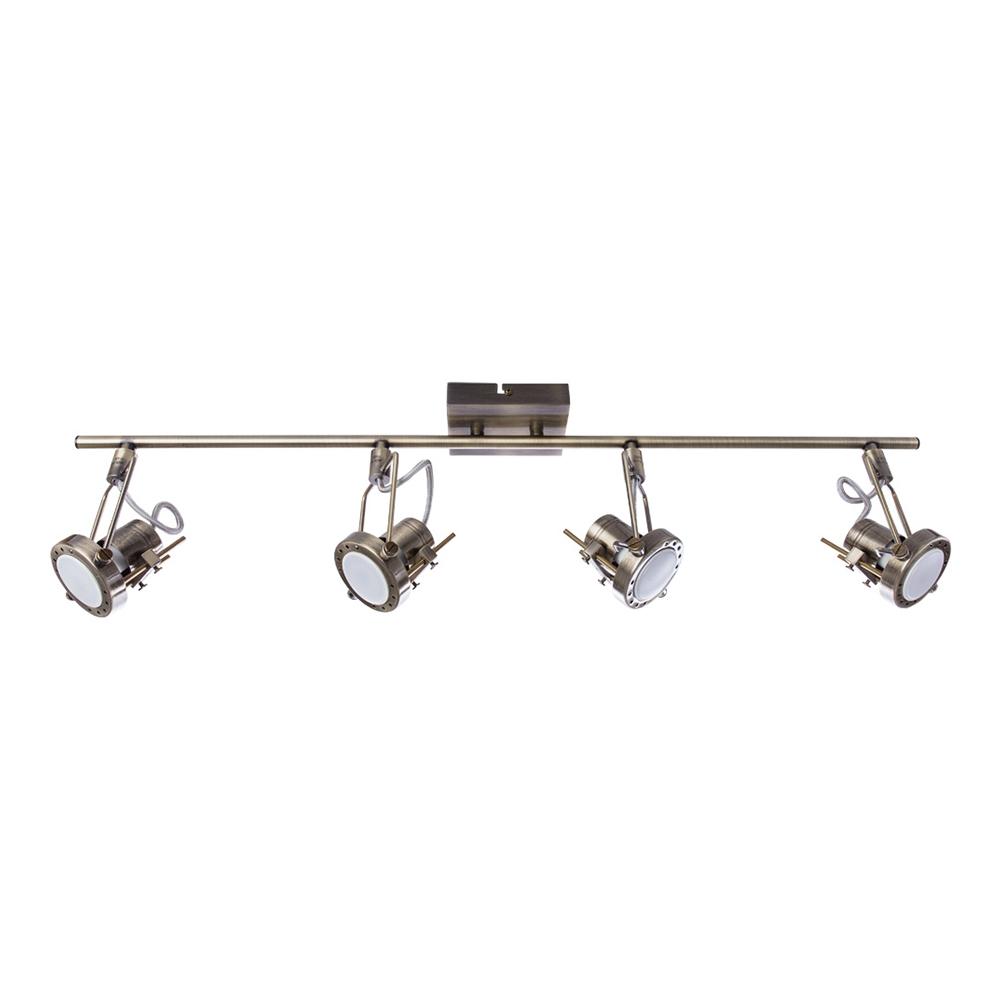 Спот ARTE LAMP A4301PL-4AB GU10 50 Вт 220 В IP20 античная бронза