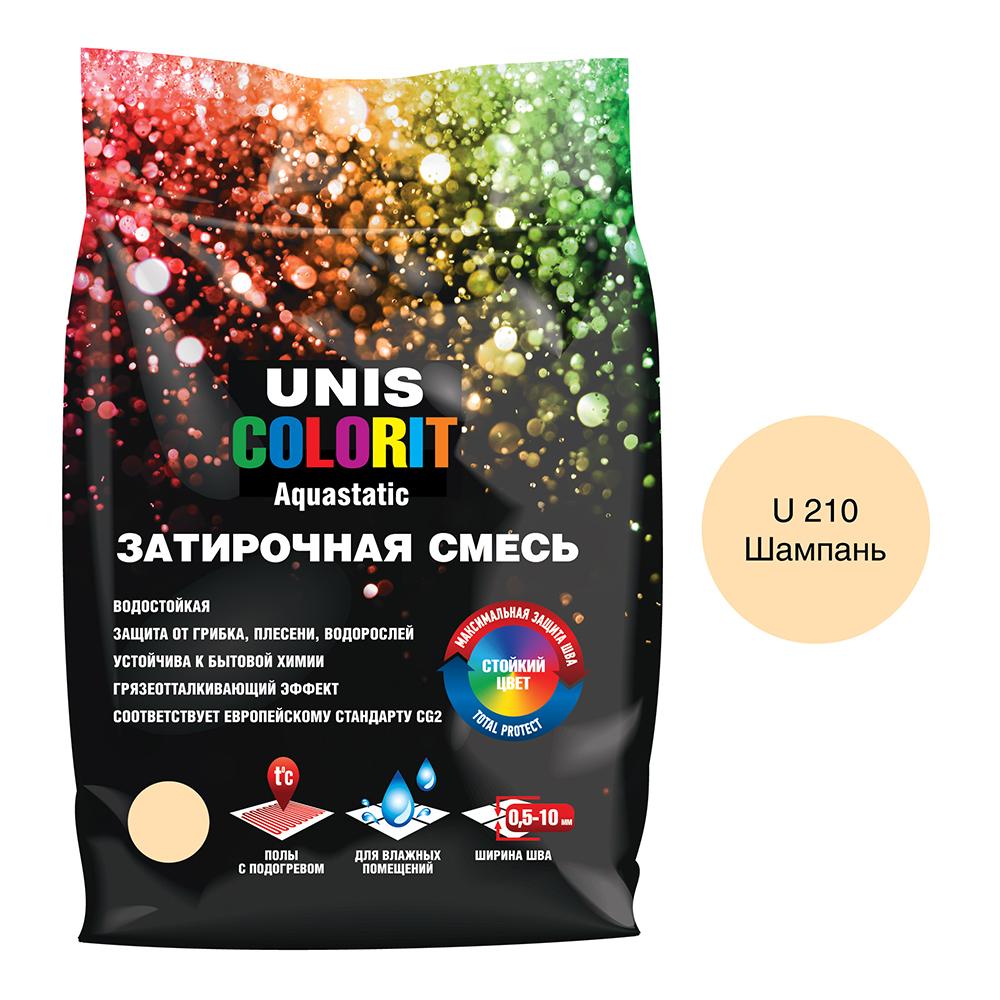 Затирка Unis Colorit шампань 2 кг