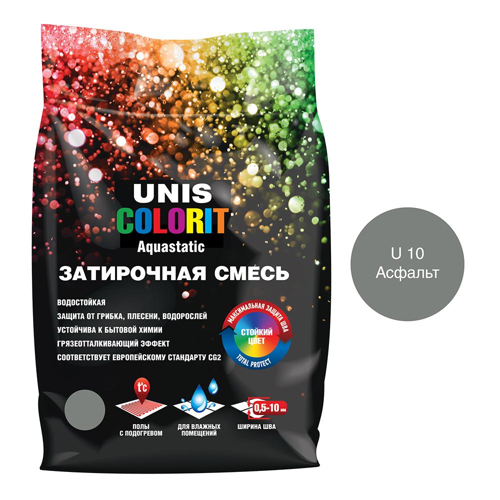 Затирка Unis Colorit асфальт 2 кг