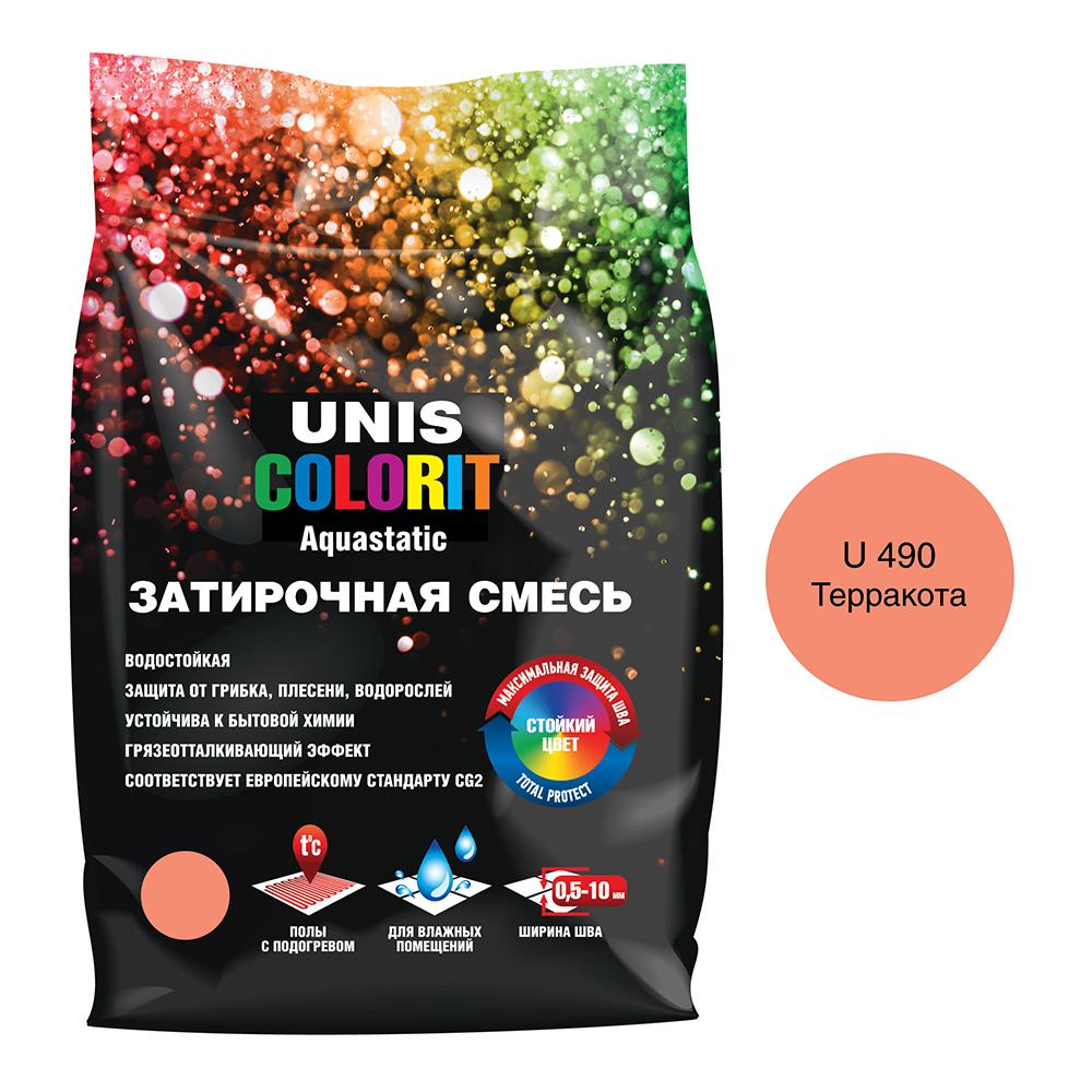 Затирка Unis Colorit терракотовая 2 кг