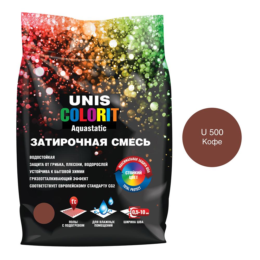 Затирка Unis Colorit кофе 2 кг