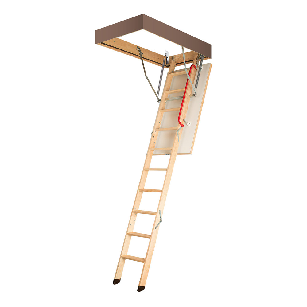 Лестница чердачная Fakro Komfort Plus деревянная 305х60х130