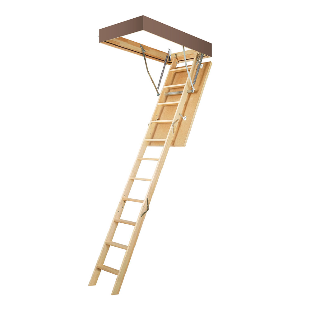 Лестница чердачная Fakro Smart Plus деревянная 305х70х140 см