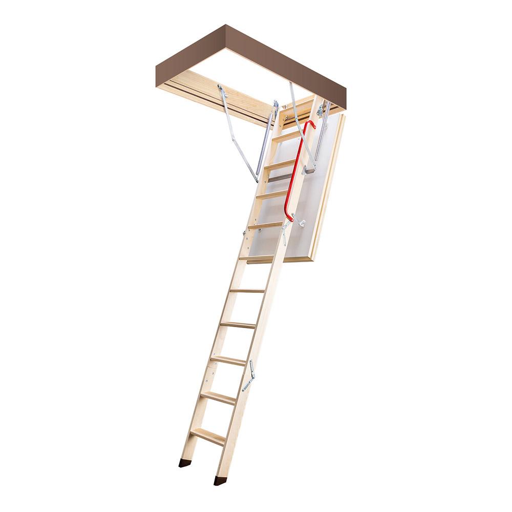 Лестница чердачная Fakro термо деревянная 280х70х130 см