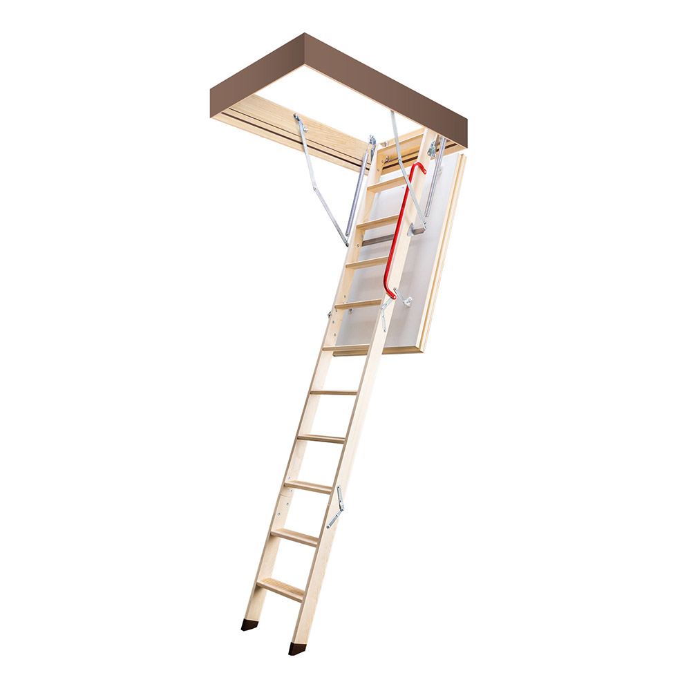 Лестница чердачная Fakro термо деревянная 280х70х140 см