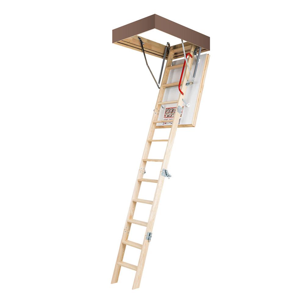 Лестница чердачная Fakro термо Energy деревянная 280х60х100 см