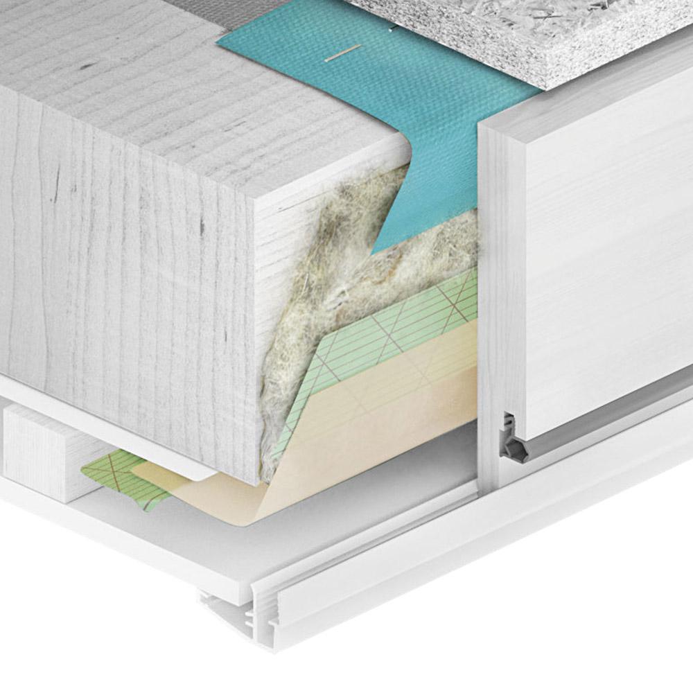 Комплект изоляции для лестницы чердачной Fakro LXD 86х140 см