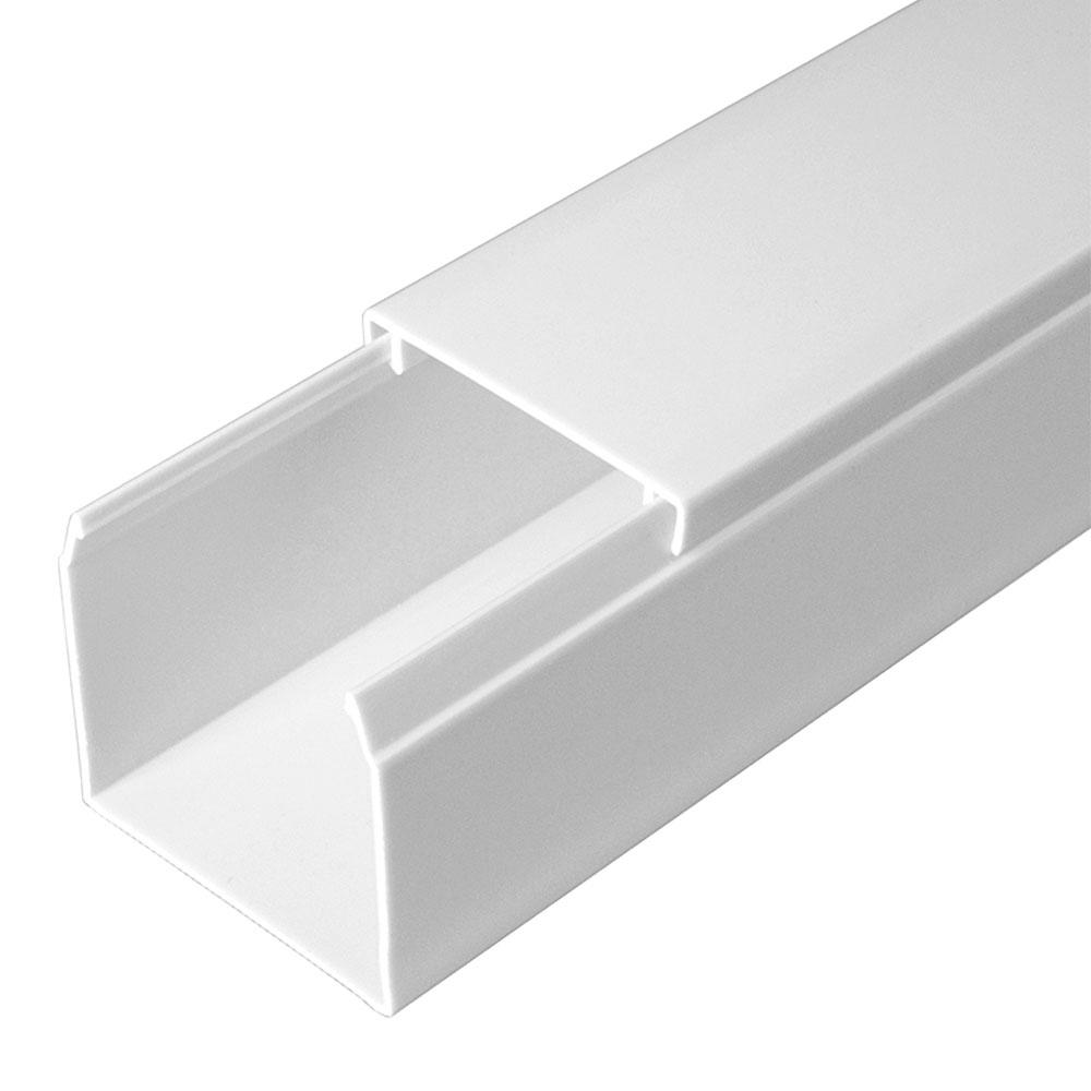 Кабель-канал 40х40 мм белый 2 м фото