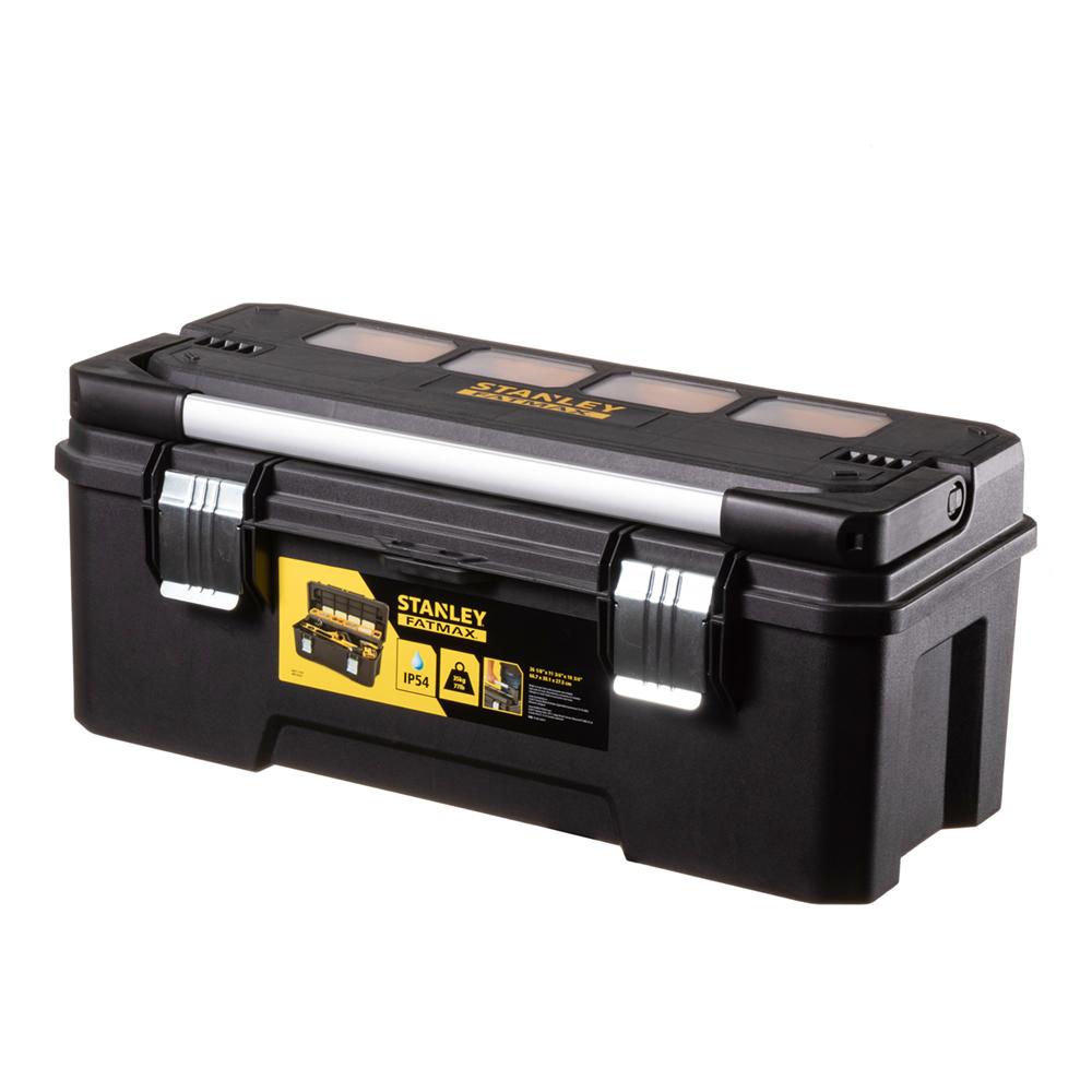 Ящик для инструментов Stanley Fatmax (FMST1-75791) 660х300х275 мм stanley ящик для инструмента jumbo с 2 мя съемными органайзерами в крышке отсеком для отверточных