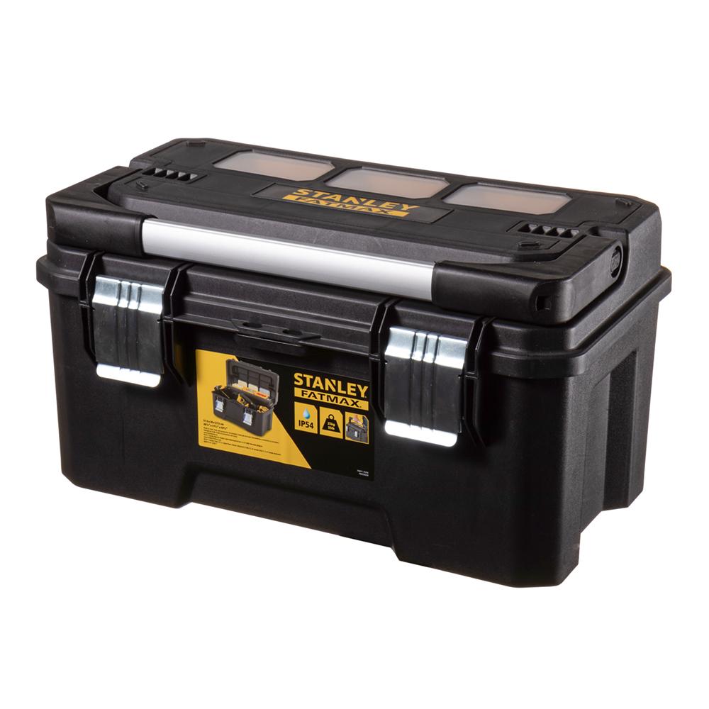Ящик для инструментов Stanley Fatmax (FMST1-75792) 515х300х275 мм stanley ящик для инструмента jumbo с 2 мя съемными органайзерами в крышке отсеком для отверточных