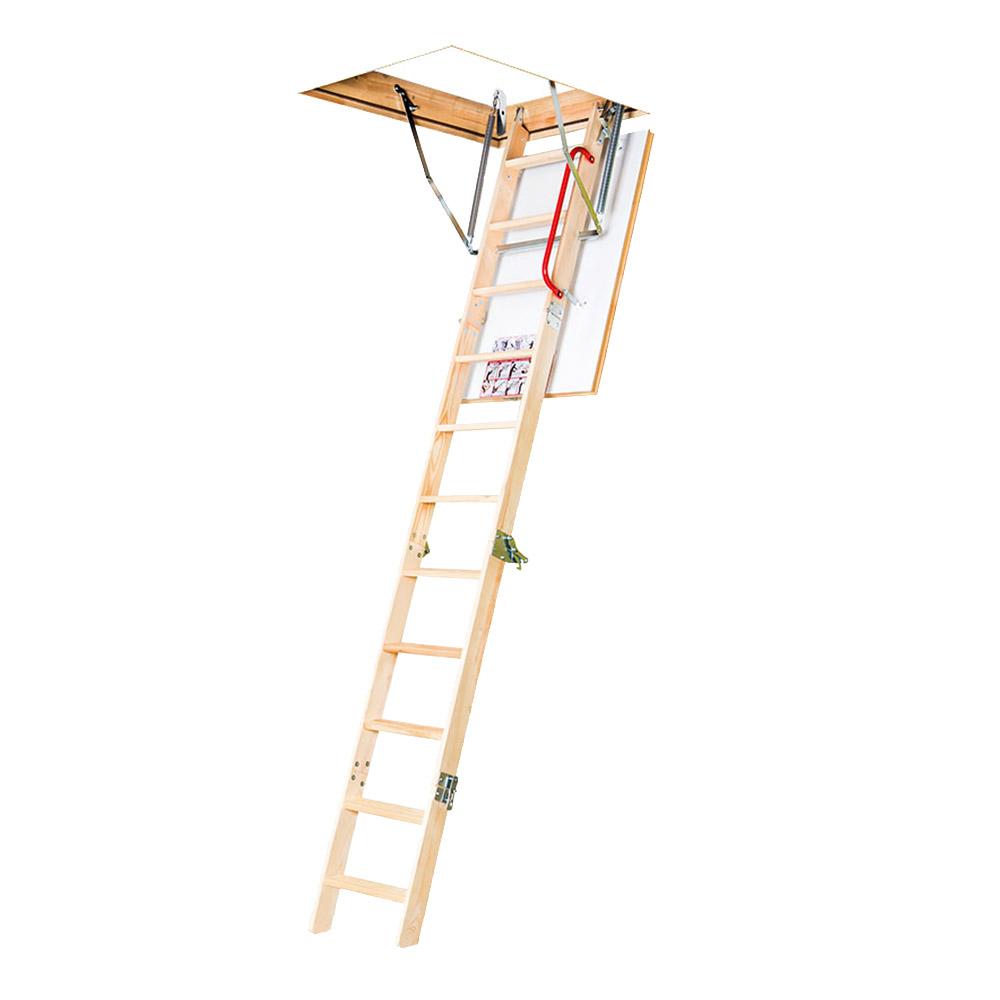 Лестница чердачная Fakro Komfort Plus деревянная 280х70х94